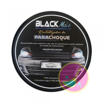 Revitalizador De Parachoque 180G - Black Mais