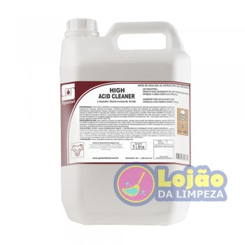 High Acid Cleaner Detergente Desincrustante 5L - Spartan