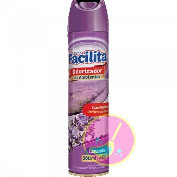 Odorizador de Ar Facilita Lavanda 360ml - Audax Co.
