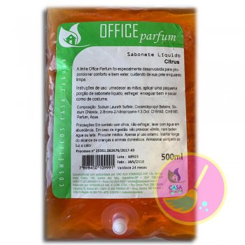 Refil Sabonete Líquido Office Parfum Citrus  500ML - Casa Jaguar